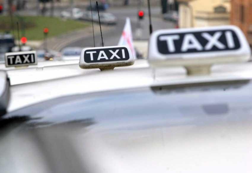 Такси в Неаполе (фото)