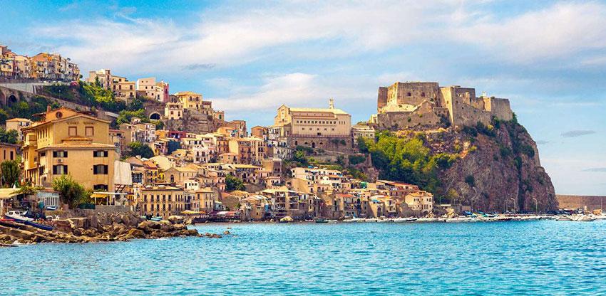 Трансфер Неаполь-Калабрия. Фото пейзажа
